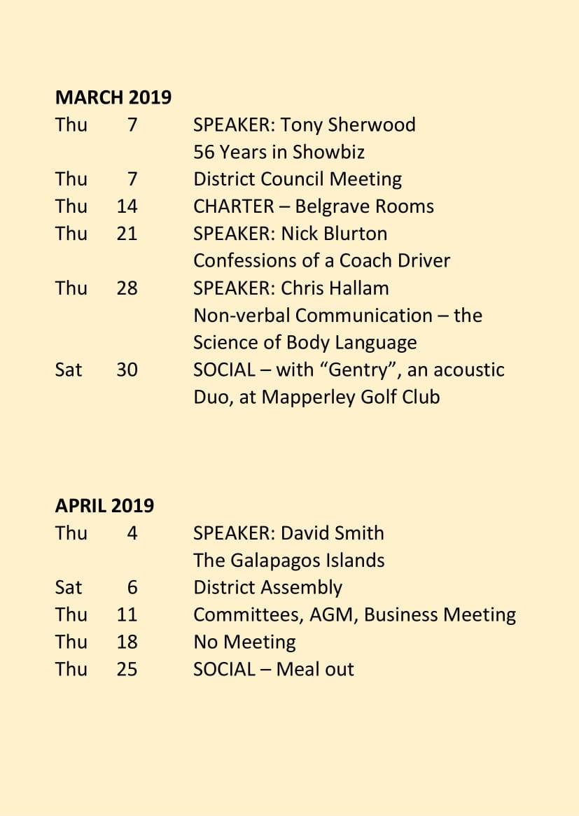 Carlton Programme Jan - June 2019-3
