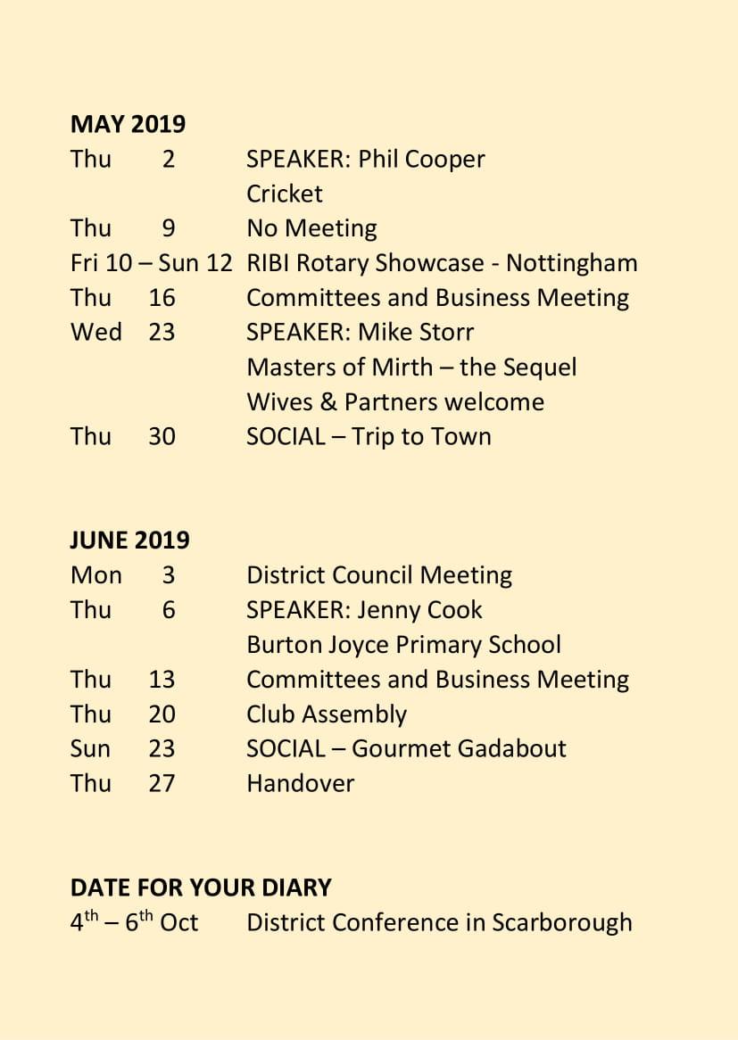 Carlton Programme Jan - June 2019-4